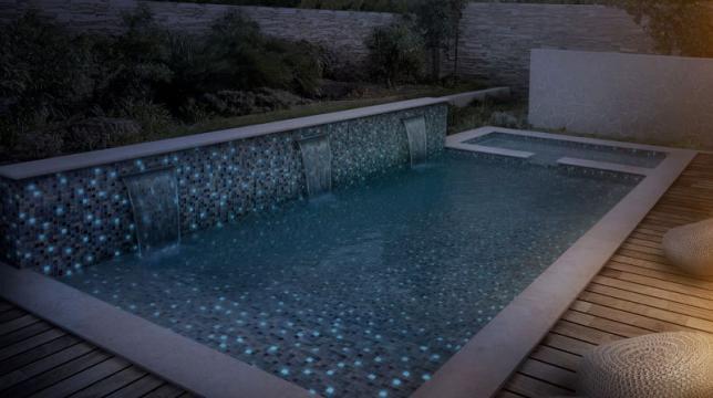 мозайка  для бассейна